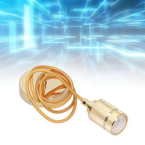 Soporte de lámpara retro, soporte de lámpara de plástico ABS aislado para sala de estar en casa para bombilla de araña E27