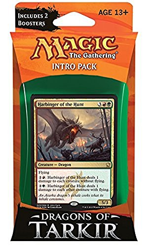 Magic The Gathering Dragons of Tarkir Furious Forces Intro Deck by Magic: the Gathering