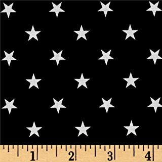 Best black fabric with white stars Reviews