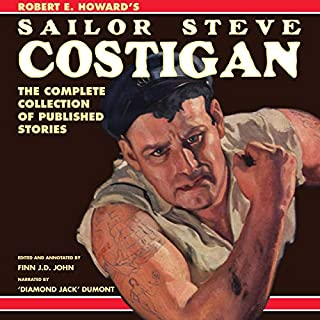 Sailor Steve Costigan audiobook cover art