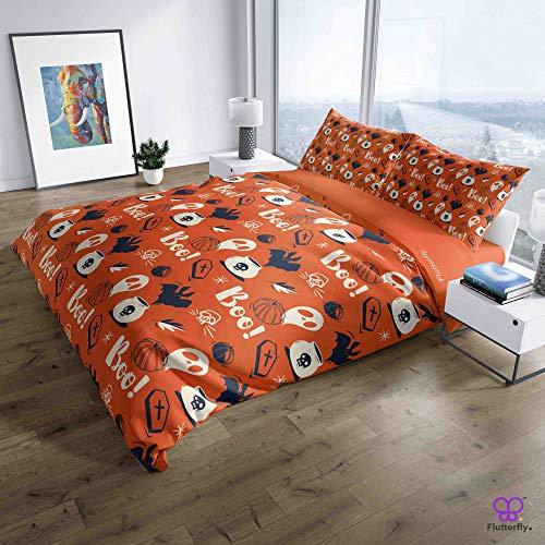 Flutterfly duvet cover king size superk duvet cover queen superk bedding set bed set queen housse de couette superking Halloween Rush (516-1154) design