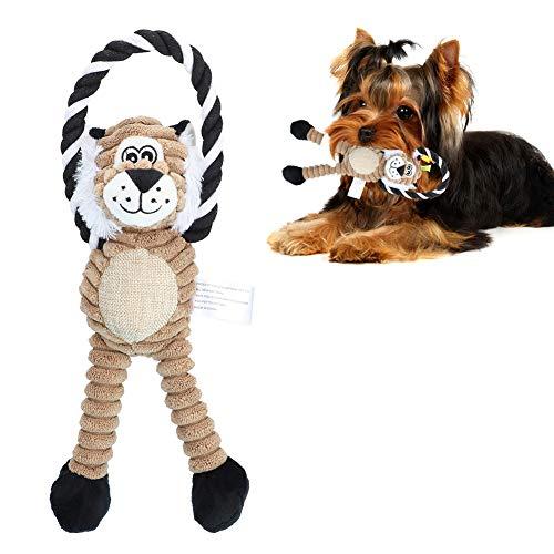 Juguete masticable para perros de peluche Juguete masticable para mascotas...