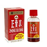 Zheng Gu Shui External Analgesic (Muscle, Joint, Sports, Back Pain Relief) (1.0 Fl Oz) (1 Bottle) (Solstice)