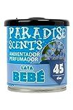 Paradise PER80133 Perfumador Lata Bebe, Color Azul, 100 gr