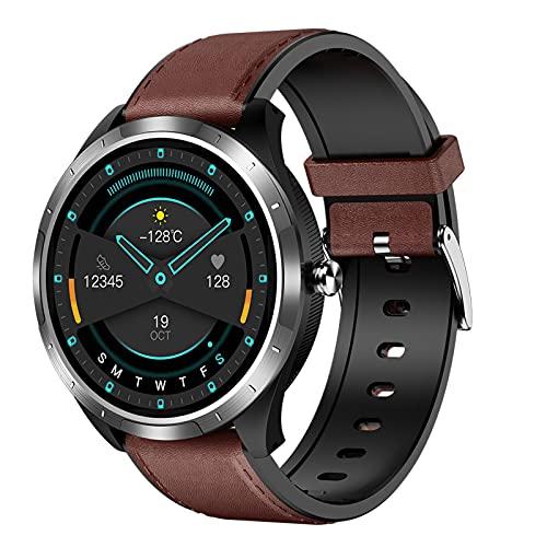 BAIHUO Smart Watch Pedómetro Tasa del corazón Calorie Counter Sleep Tracker Presión Arterial Paso Contador Impermeable Bluetooth Fitness Tracker Wristwatch Hombres Mujeres