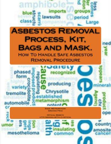 Asbestos Removal Process, Kit, Bags and Mask. (English Edition)