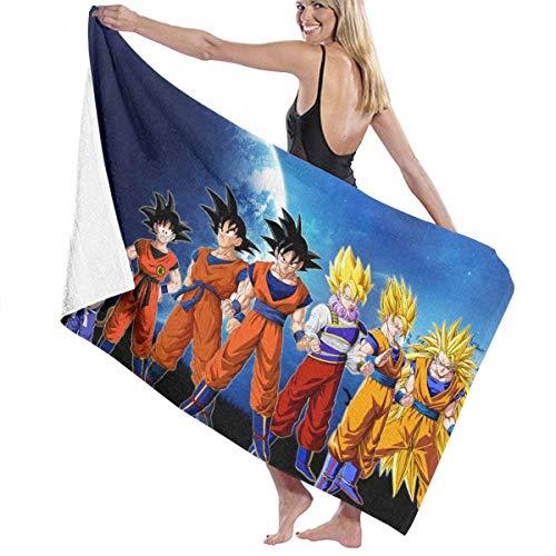 AGHRFH Dragon Ball Z Goku Strandtuch Badeset Badetuch Badetuch Zubehör Pooltuch