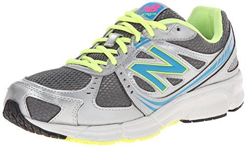 New Balance Women's 470 V4 Running Shoe, Black/Pink, 9.5 B US