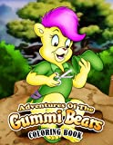 Adventures of the Gummi Bears Coloring Book: Super Coloring Book for Kids and Fans – 110 GIANT Pages to Coloring - 50+ High Quality Images