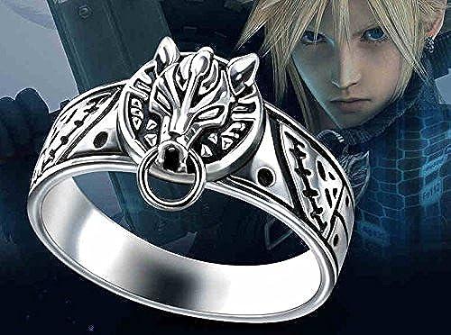 Skylynn--Anime FINAL FANTASY Cloud Strife cosplay Ring   Halskette (ring)
