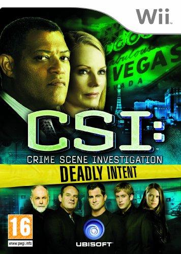 CSI: Crime Scene Investigation - Deadly Intent (Wii) [Edizione: Regno Unito]