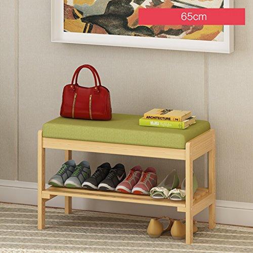 LITINGMEI Shelf LT Haushalts-Regal-Speicher-Schuh-Zahnstangen Moderne mehrstöckige hölzerne Regale 65cm (Farbe : B)