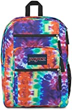 JanSport Big Student Backpack, Red Hippie Days, One Size