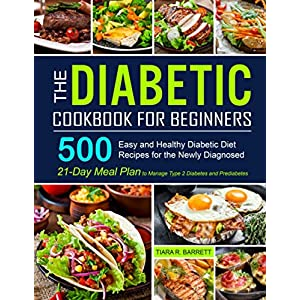 buy  The Diabetic Cookbook for Beginners: 500 Easy and ... Books