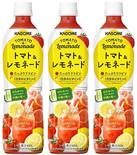 カゴメ トマト&レモネード スマートPET 720ml×3本