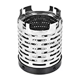 DUTTY Mini Heater Stove Wear-resistant Outdoor Camping Gas Heater Stove Portable Steel Warmer Heating Cover Stove Camping Accessories