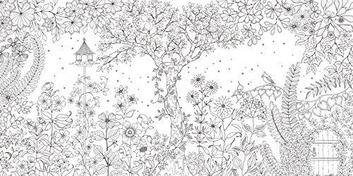 ひみつの花園花いっぱいのぬりえブック