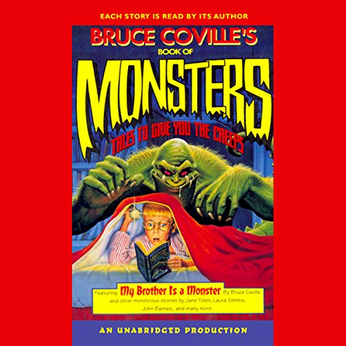 Bruce Coville's Book of Monsters audiobook cover art