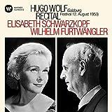 Hugo Wolf Recital-Salzburg,12/08/1953