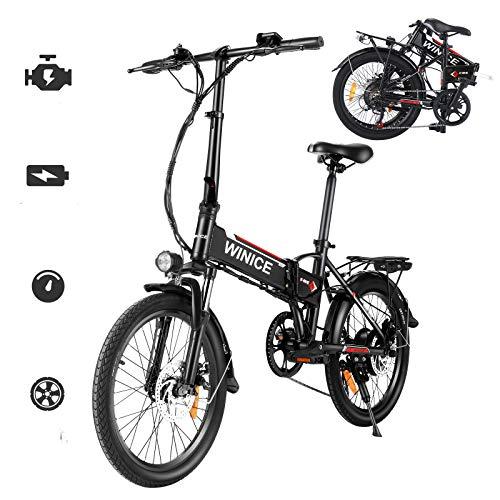 Vivi Bicicletas Electrica Plegable Adulto, 20'' Ebike Motor de 250W, Batería de...