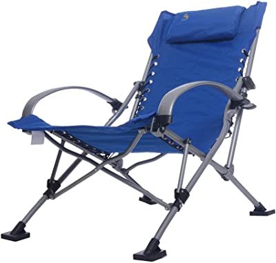 Chaise Lounges Folding Chair Leisure Chair Fishing Chair Home Aluminum Garden Chair Lazy Chair Outdoor Camping