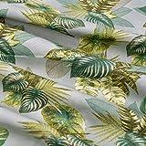 Emily&Joe's fabrics 100% Baumwolle Stoff Meterware BLÄTTER