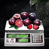 ZYHA Báscula electrónica multifunción Digital para Alimentos,viga de...