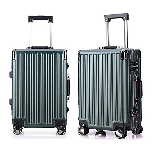 Mode Ontwerp Spinner Travel Bagage Trolley Cases 2 Stuk Nested Set 20in 24in Bagage koffer Hardshell Lichtgewicht Carry-on Staand koffer 360° Stille Spinner Multidirectionele Wielen Vliegtuig