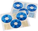 Hama Fogli Porta CD Formato A4, 6 CD per Foglio, 10 pzz...