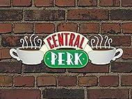 """Friends""""Central Perk Brick"""" Canvas Print, Cotton, Multi-Colour, 1.50cm x 60.00 x 80.00 cm"""