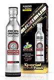 XADO Engine Oil Additive Metal Conditioner Engine Treatment - Wear Protection & Rebuilding of Worn Metal - Premium Version - 1 Stage Maximum Twin Turbo (high-Performance Engines 3-10Qt)