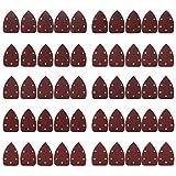 pulido 800 100 Mayoaoa 10 unidades de lijado triangular 80 mm 40