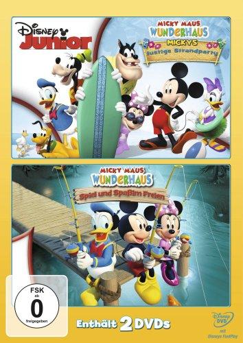 Micky Maus Wunderhaus - Mickys lustige Strandparty / Spiel und Spaß im Freien [2 DVDs]