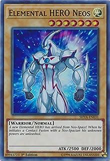 Yu-Gi-Oh! - Elemental HERO Neos - SHVA-EN031 - Super Rare - 1st Edition - Shadows In Valhalla