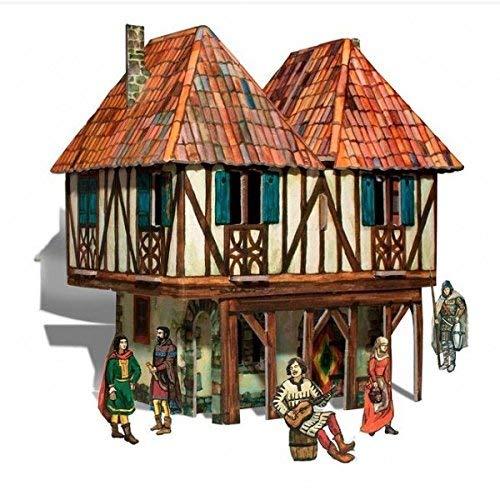 Puzzle 3D CASA SEÑORIAL (Ciudad Medieval). CLEVER Paper 14282.