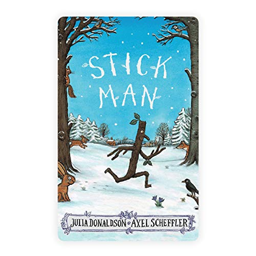 Yoto Children Friendly Audio Story Card – 'Stick Man' by Julia Donaldson Audiobook for Kids for Yoto Player and Yoto App – Toy for Boys and Girls Age 0–5 Years