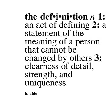 The Definition