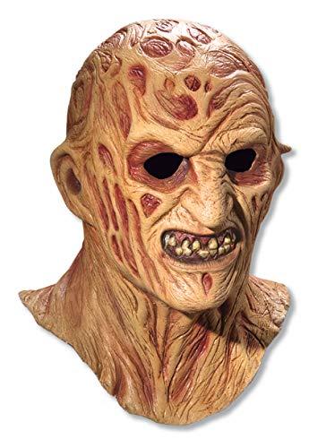 Rubie's Official Freddy Krueger Latex Mask - Nightmare on Elm Street Adul