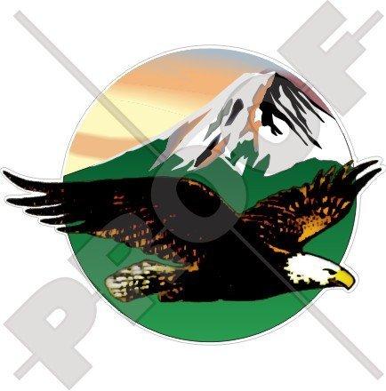 Aigle Oiseau de Proie Raptor 129,5 cm (130 mm) en vinyle Bumper Sticker, autocollant