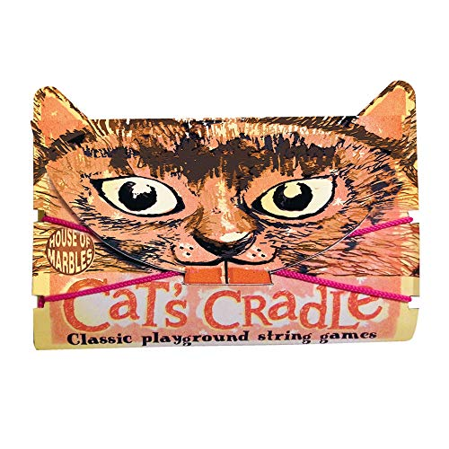 Cat's Cradle Classic Playground String Game by House of Marbles