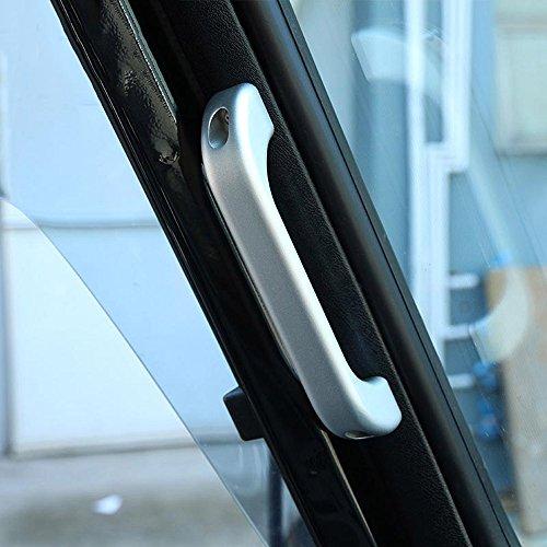 2 asas de agarre para interior de coche en aleación de alum