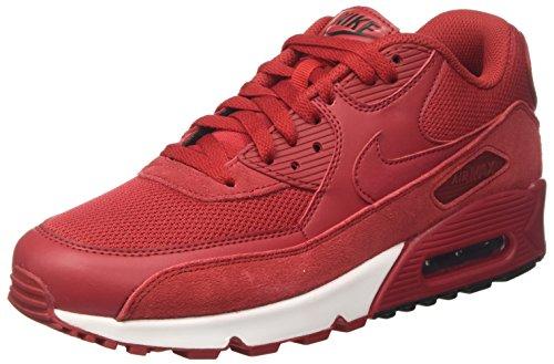 Nike Air MAX 90 Essential, Zapatillas de Gimnasia Hombre, Rojo (Gym Red/Gym Red/Black/White), 40 EU
