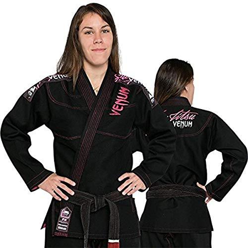 Venum Challenger 2.0 Kimono JJB Femme, Black, FR : XS (Taille Fabricant : F1)