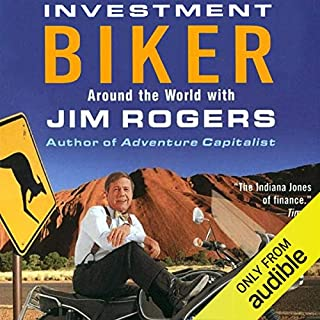 Investment Biker audiobook cover art