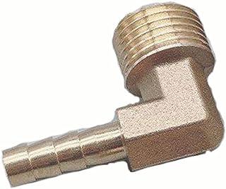Lnanqing-slangverbinder, messing slang, weerhaak met elleboog, 6 mm, 8 mm, 10 mm, 12 mm, 16 mm tot 1/4 1/8 1/2 3/8 inch, B...