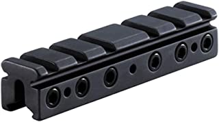 BKL 4in. Long Dovetail to Weaver/Picatinny Adaptor Mount, Black (BKL-568-MB)