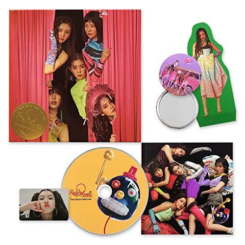 RED VELVET Mini Album - The Reve Festival Day 1 [ GUIDE BOOK ver. ] CD + Booklet + Photocard + Photo Stand + FREE GIFT / K-POP Sealed