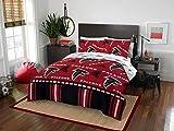 Atlanta Falcons NFL Full Comforter and Sheets, 5 Piece NFL Bedding