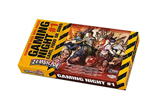 Cool Mini or Not Zombicide Gaming Night Kit #1 Cars Food or Guns Board Game