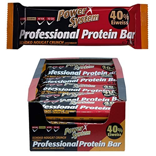 Power System Professional Protein Bar - Schoko-Nougat - 16 x 70g
